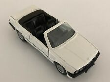 GAMA BMW 325i E30 White with Black 1:43 scale diecast model # 1110