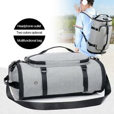 Men Travel Bag Luggage Laptop Backpack USB Charge Weekend Bag Anti-theft Bags