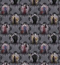 Springs Creative Villains Portraits Multi- Color Fabric Bty