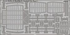 Eduard Accessories 72536 - 1:72 Halifax B Mk.I/Mk.II Wing Bomb Bay F.Rev - Ätzsa