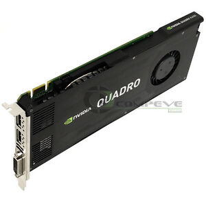 IBM nVidia Quadro K4000 GPU 3GB GDDR5 PCIe x16  2.0 x16 Video Card 03T8312
