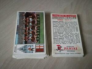 LOTTO 40 FIGURINE CALCIATORI 1971/72 PANINI X ALBUM 1971 1972