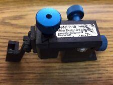 Used Miller Design P10 Wafer Probe Micropositioner w/ Hard Mount & Inker Bracket