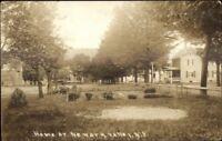 Newark Valley NY c1915 Real Photo Postcard