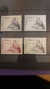 Monaco 1960 SG668/71 Set in Unmounted Mint Condition.
