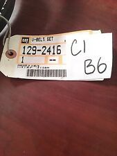 Genuine OEM Caterpillar CAT V-Belt 129-2416   V