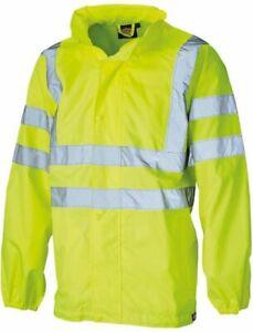 Hi Visibility Hi Viz Waterproof Jacket XXXL (3xl) BRAND NEW PACKED