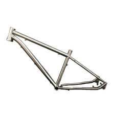 "16"" 17"" 18"" 19"" Titanium MTB BMX XC AM Bicycle Frame Disk Brake 26 27.5 29"