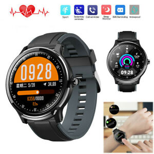 Men Boys Smart Watch Health Monitor Sport Bracelet Phone Mate for iPhone Android