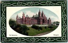 GLASGOW, SCOTLAND,  ART GALLERIES    c1910s  Postcard