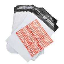100 10x13 Poly Mailer Shipping Mailing Envelope Plastic Self Sealing Bag 2.4 Mil