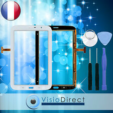 "Vitre ecran tactile pour Samsung Galaxy Note 8.0"" N5100 blanc + kit outils"