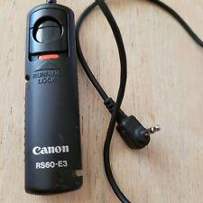 Canon Remote Control Shutter Release RS-60E3