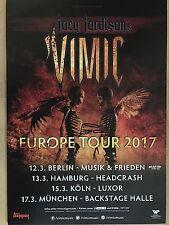 JOEY JORDISON - SLIPKNOT  2017 TOUR - orig.Concert Poster -- Konzert Plakat  A1