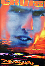1990 DAYS OF THUNDER Movie Poster TOM CRUISE Signed 27x40 Single Side Rolled 2