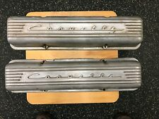 original corvette alloy valve covers #3767493 for C1-2 corvettes 59-66(early)