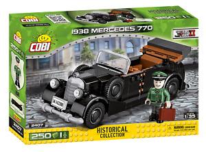 Cobi 2407 1938 Mercedes 770 Bausatz 255 Teile / 1 Figur