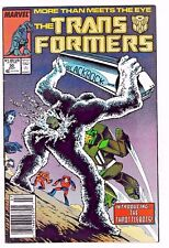 TRANSFORMERS #30 (FN/VF) 1st THROTTLEBOTS! Classic Marvel Copper-Age Issue