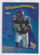 2003 TOPPS CHROME RANDY MOSS - RECORD BREAKERS #RB18