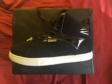 "NWT Men's ""Rocawear"" Black Faux Leather Lace Up High Top Sneakers Shoes Sz 10.5"