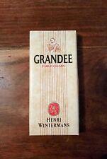 VINTAGE Henri Wintermans GRANDEE Empty Cigar Box