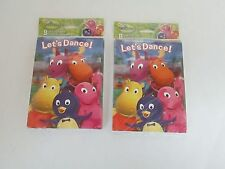 BACKYARDIGANS INVITATIONS & THANK YOU CARDS - LOT OF 2 PACKS - PARTY SUPPLIES