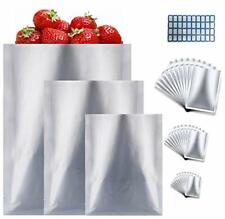 New listing Mylar Aluminum Foil Bags-30 Pieces 3 Sizes Metallic Premium Mylar Foil Flat H.
