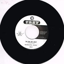 BARBARA DANE - I'M ON MY WAY / GO 'WAY FROM MY WINDOW (Popcorn Soul / R&B) Repro
