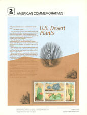 #156 20c U. S. Desert Plants #1942-1945 USPS Commemorative Stamp Panel