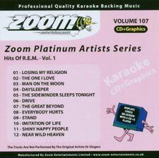Zoom Karaoke Platinum Artists Vol. 107 CD+G - Hits Of REM