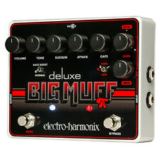 Electro-Harmonix Deluxe Big Muff Pi Guitar Effects Pedal +Picks