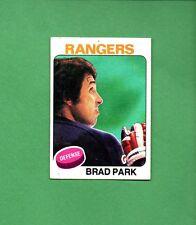 1975 Topps Hockey Set BRAD PARK Card NO. 260