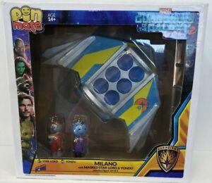 NIB Bif Bang Pow! Guardians of the Galaxy Vol 2 Pin Mate Wood Milano w/Star-Lord