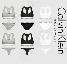 Calvin Klein Women Sets Underwear CK Sports Bralette &Brief /Thong