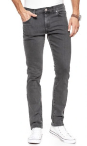 Mens Wrangler Larston stretch slim fit jeans 'Stoned up' FACTORY SECONDS WA8