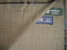 """DORMEUIL 95% WOOL + 5% CASHMERE """"VINTAGE"""" SUITING FABRIC-CASHMERE TOWNTEX -3.5 m"""