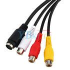 VGA SVGA a 3 RCA AV TV Audio Video Adaptador Convertidor Cable Para Laptop PC
