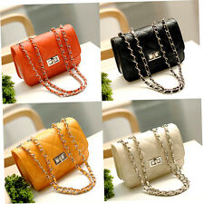 Women PU Leather Shoulder Chain Bag Messenger Handbag Crossbody Bags New LSGH