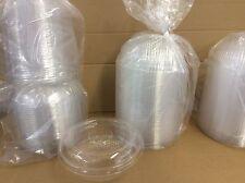 Salat-Box mit Dom-Deckel, OPS, klar, rund, 610 ml 100 Stück Salatschale