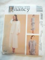 Vintage 2000 Sewing Pattern Jacket & Long Sleeveless Dress Size 20-22 Uncut