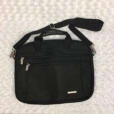 Samsonite Black Zippered Laptop Computer Carrying Case Cross Body Messenger Bag