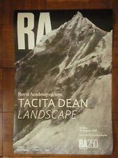 Tacita Dean poster landscape 2018 Royal Academy unhung 20 X 30 in.