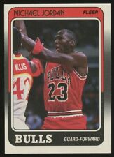 1988-89 Fleer Michael Jordan # 17 Chicago Bulls