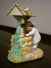 Hallmark Spoonful of Stars Collectible-Figurine-Girl /Wishing Well-1997-1stE/6644