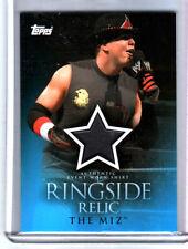 WWE The Miz 2009 Topps Ringside Relic Event Worn Shirt Card B