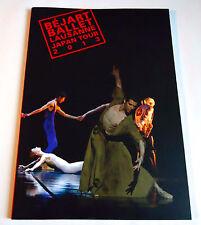 BEJART BALLET LAUSANNE Light JAPAN TOUR 2013 Program Book Maurice Dance