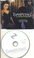 EVANESCENCE Call Me When You're Sober RARE Promo CD Single