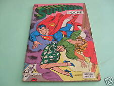 SUPERMAN POCHE n°38 MENSUEL SAGEDITION OCTOBRE 1980