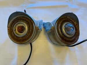 1951 1952 Cadillac Parking Lights Front Assembly Driver Passenger Side Pair