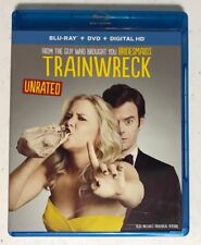 Trainwreck (Unrated) 1-Disc BluRay (No DC or DVD) Amy Schumer, Bill Hader